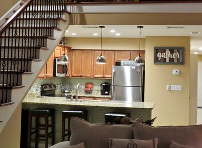 Beautifully updated kitchen with all the comforts of home.