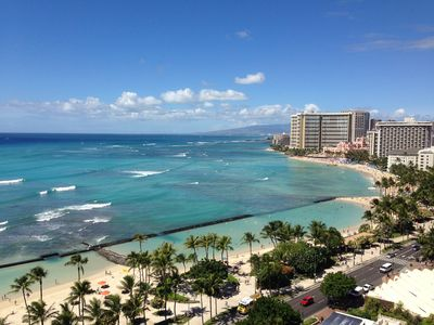 Photo for Wyndham Waikiki Beach Walk - 2 Bedroom Unit! 5 Star resort Close to the Beach!