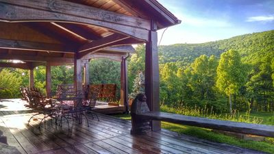 Photo for Blue Ridge Mountain Cottage With Stunning Views, Hiking Trails