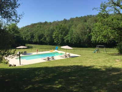 Photo for Luxury holidays in Brantome. Villa with pool on 13 hectares of land