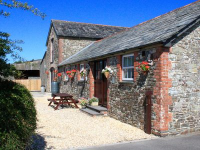 Photo for Cosy barn for couples in peaceful rural surroundings near Bude coast