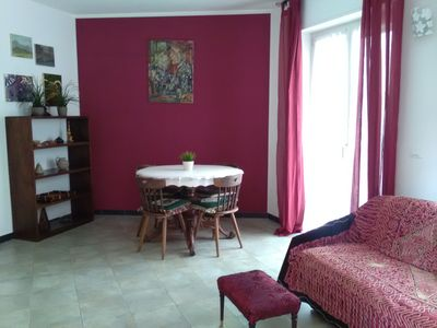 Photo for LUCREZIA: central holiday apartment, for peaceful vacations. Private Parking.
