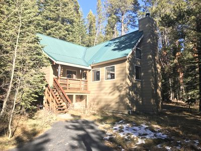 Photo for Spacious, cabin-style home w/ deck, near restaurants, slopes, & lake - dogs ok!