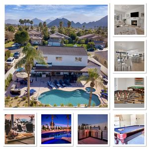 Photo for Coachella 2 & March 8-12  Specials! Sleeps 16 w/Pool,spa,BBQ,fire pit,games.