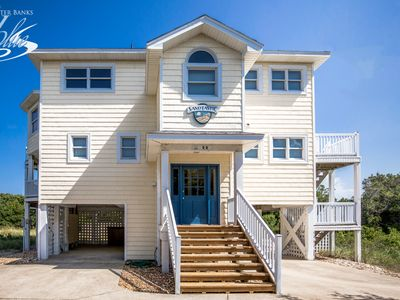 Photo for Sandtastic | 999 ft from the beach | Dog Friendly, Private Pool