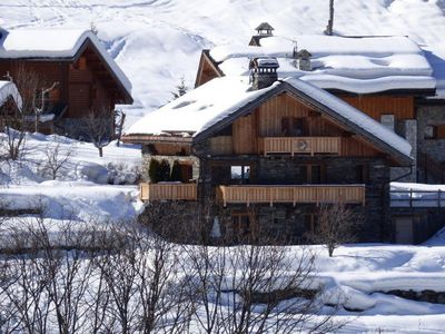 Photo for Chalet in the heart of the hamlet authentic, quiet and charming Raffort.
