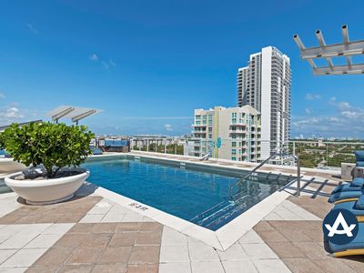 Photo for Sextant | Las Olas Loft #3 | Heated Rooftop Pool + Hot Tub | 10 mins to Beach
