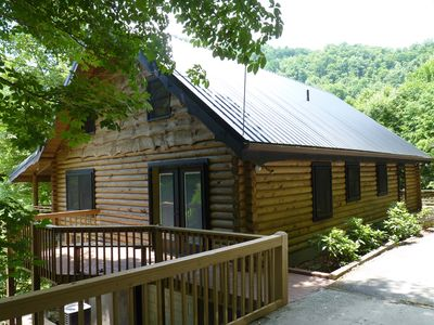 Photo for Beautiful Cabin, Two Master Suites, Great Location, Wi-Fi