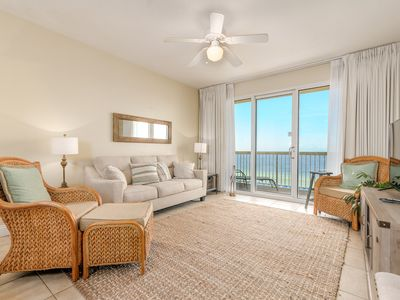 Photo for Calypso 4th Floor.  Easy Walk to Pier Park. Two Chairs and Umbrella Included.