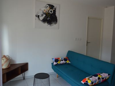Photo for Apartment T2 nine center at the foot of the faron,