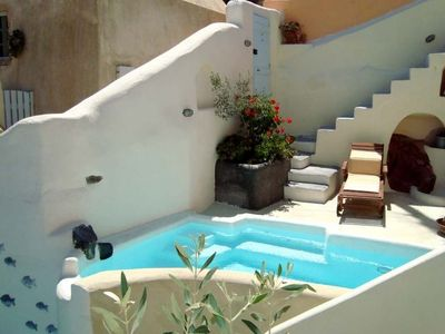 Photo for (w) Villa Ocano - Emporeio - A Wonderful 2 Bedroom Villa -  Outdoor Pool and jacuzzi