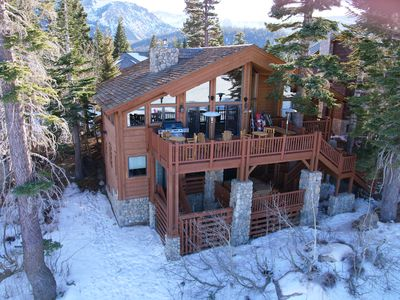 Photo for 5000 Sq Ft Custom Ski-in, Ski-Out Private Home on the Slope!
