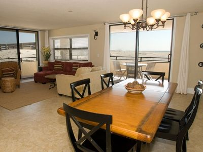 Photo for Beachfront-Gulf-Front 1700 S.F! Two King Beds! (3 BR/2.5 BA)