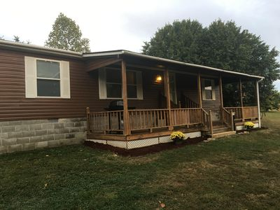 Photo for Eagles Landing 1st Choice Cabin Rentals  Hocking Hills Ohio near Logan and Athen