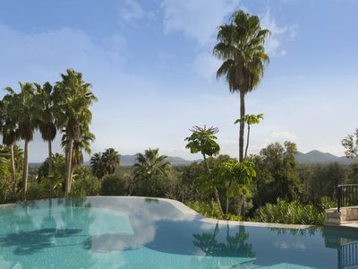 Photo for Casita with pool in stunning gardens close to Pollença.