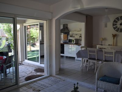 Photo for House with private access to the beach (20 M) in Frontignan-Plage
