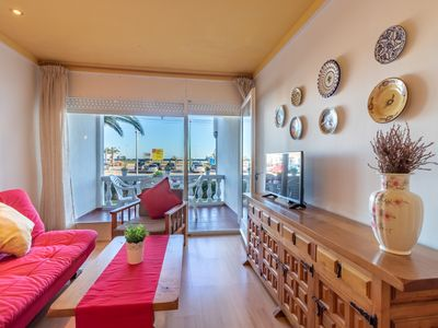 Photo for COSTA BRAVA, Apartment on firs line sea. Parking