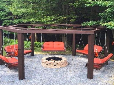 Photo for Located in the heart of all Pocono attractions!  Swing set fire-pit & game room!