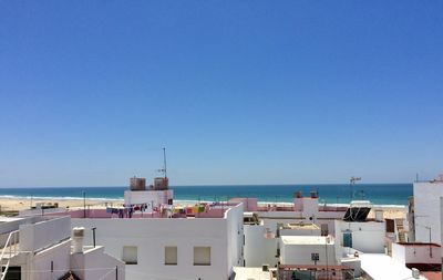 Photo for House with private terrace with sea-view in the old town 250m to the beach