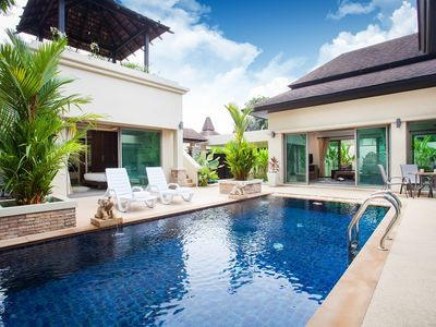 Photo for Private pool villa, 2 king beds, newly renovated with resort furnishings.