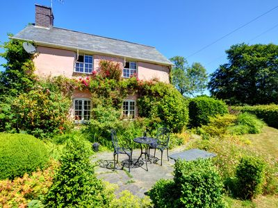 Photo for Traditional country cottage surrounded by unspoiled countryside views, a fantastic base for a family