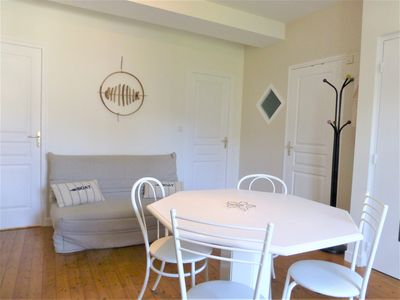 Photo for Cancale harbor appt 4 pers. in house, electric water. heating included - wifi