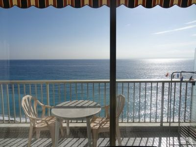 Photo for RESIDENCE GEORGES V - STUDIO SEA VIEW WITH TERRACE - MENTON TOWN CENTER