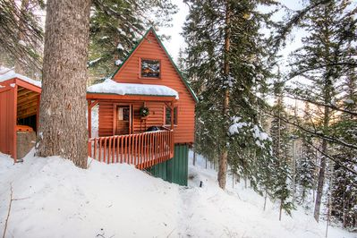 Exterior  - Welcome to Solitude! Your log cabin is professionally managed by TurnKey Vacation Rentals.