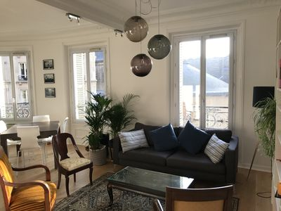 Photo for Beautiful 2 bedroom apartment in Temple / Le Marais