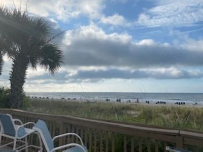 Photo for Ocean Front Resort in North Myrtle Beach,  Sleeps 8, Directly on the Beach!