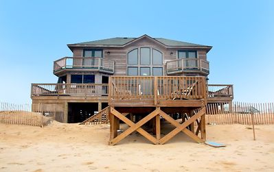 Photo for OCEANFRONT BEAUTY - 4 BEDROOMS (2 MASTERS), HOT TUB & OUTSTANDING OCEAN VIEWS