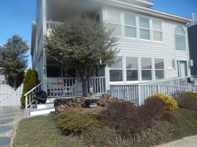 "Photo for Ocean City ""gold coast"" home on the beach block and one block from boardwalk."