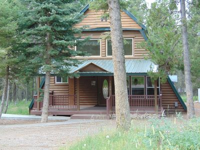 Photo for The Chateau sits on 1 acre of land with 2 bedrooms, loft, and 2 1/2 bathrooms