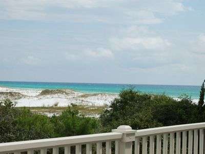 Photo for SeaBatical, Spectacular Gulf and Lake View in Gulf Trace, Private Heated Pool