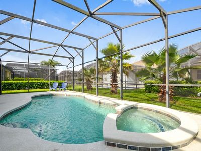 Photo for Stay in a 3 bedrooms pool home with spa near Disney and Legoland