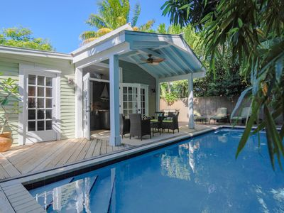 Photo for Historic Conch House, Luxurious Home with Large Pool. This one has it all!