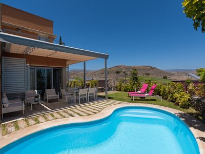 Photo for AMAZING VILLA WITH PRIVATE HEATED SWIMMING POOL