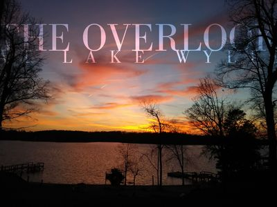 "Photo for A true ""Lake Experience"" with amazing views and sunsets, from above and below"