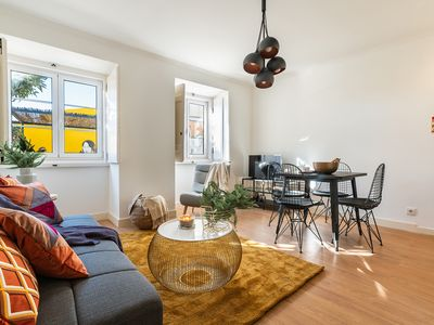 Photo for Renovated flat in a loveable, yellow lane