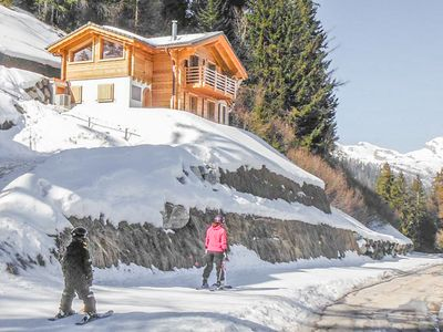 Photo for Chalet Ard - Ski-in & ski-out luxury chalet with sauna, directly on the piste