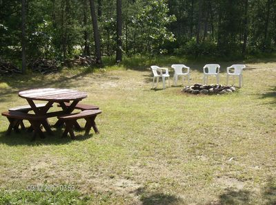 Lots of open outdoor space for activities and campfires