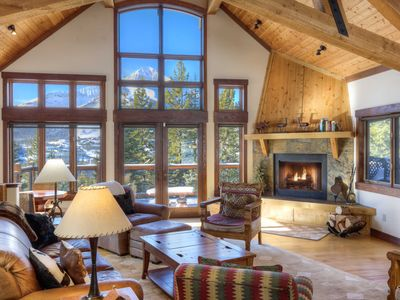 Photo for Luxury Chalet - Ski in Ski Out Access - Amazing Views!