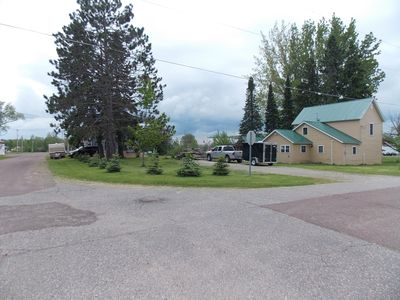 Vacation home in Mass City, MI - 4BD-1BA, located on ATV & Snowmobile Trail