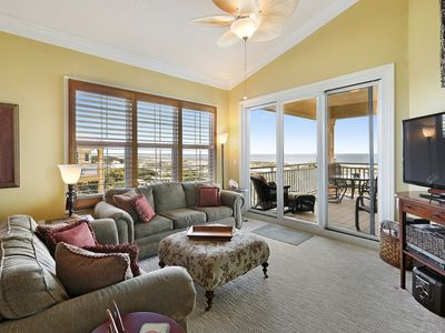 Photo for 301W ~ Inviting 3BR/3BA penthouse with beautiful Gulf view