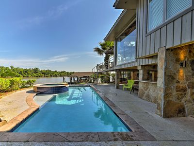 Photo for Luxury Home w/ Pool on San Jacinto Riverfront!