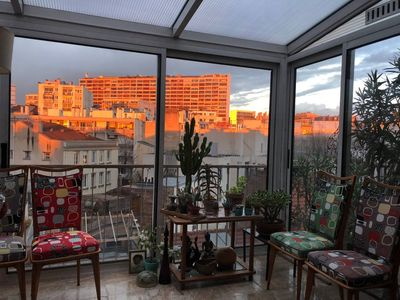 Photo for Charming flat with terrace - Paris