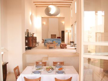 Ethno-chic 6-bedroom villa in stunning village location, 20 mins from Marrakech