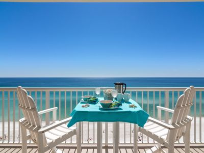 Photo for Oceanfront, Reserved Parking Space, Free WiFi & Cable, Free beach service.