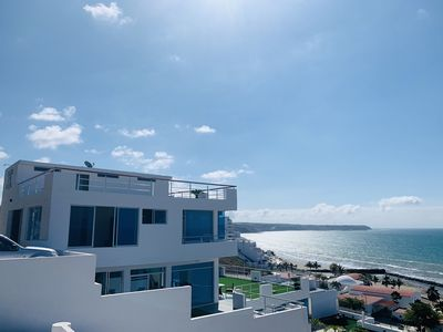Photo for Exclusive Oceanfront Penthouse with beach access in Manta Private Club