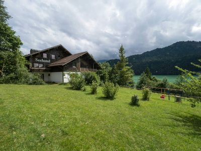 Photo for Seehotel Weissensee - Double Room with Lake and Mountain View